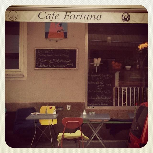 Cafe Fortuna Brunch In Munchen