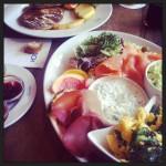 Frühstück im Eisbach